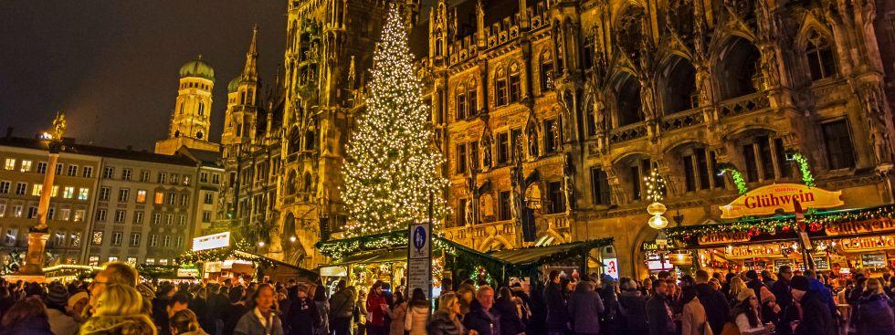 München Weihnachtsmarkt.Halbzeitbilanz Zum Christkindlmarkt Rund Um Den Marienplatz Das