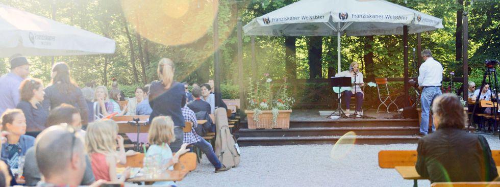 Isarlauschen im Biergarten Zum Flaucher, Foto: Haberl Gastronomie/Christin Büttner