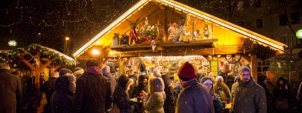 Haidhausen Weihnachtsmarkt.Haidhauser Weihnachtsmarkt Christkindlmarkt Munchen Im