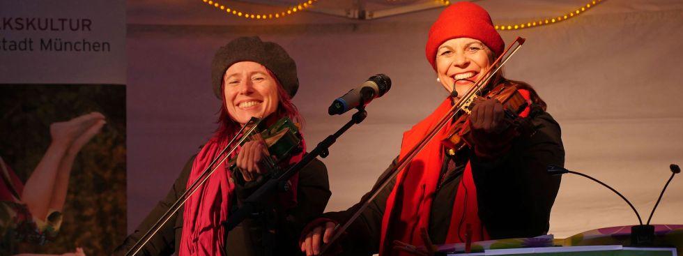 Singen unterm Christbaum, Foto: Kulturreferat/Thomas Merk