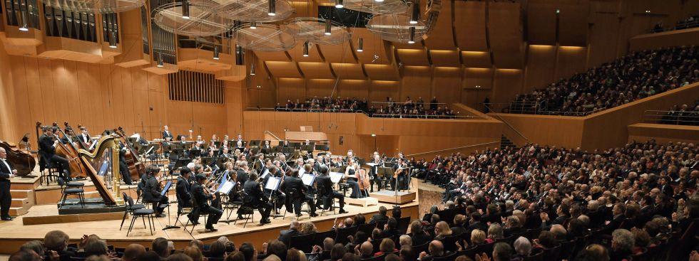Die Münchner Philharmoniker spielen in der Philharmonie des Gasteigs, Foto: Andrea Huber