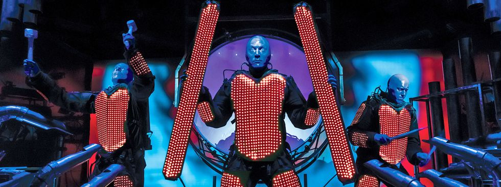 Blue Man Group , Foto: Lindsay Best