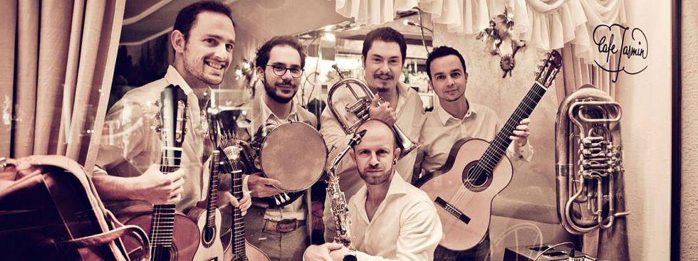 """Die Band """"Bavaschôro"""", Foto: Lena Semmelroggen"""