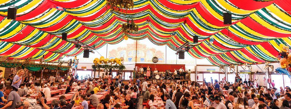 Das Hippodrom auf dem Frühlingsfest, Foto: muenchen.de/Lukas Fleischmann