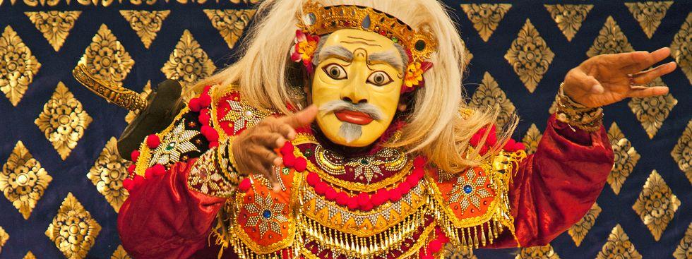 Topeng Tua, Indonesischer Tanz beim Gamelan-Festival, Foto: Fotini Potamia