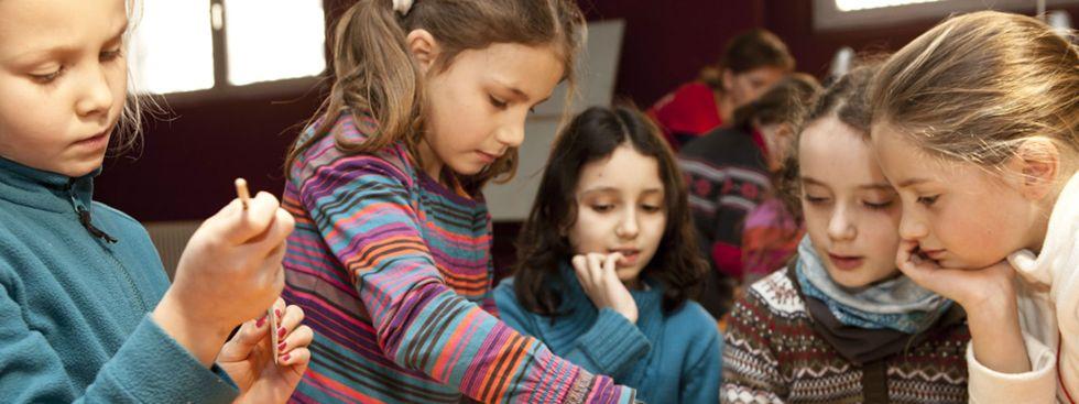 Bau mit! Mitmachbaustelle im Kindermuseum , Foto: Kindermuseum München