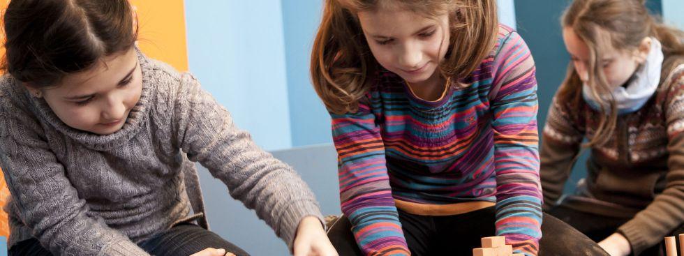 Bau mit! Mitmachbaustelle im Kindermuseum, Foto: Kindermuseum München