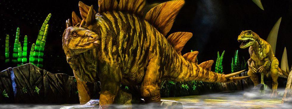 Stegosaurus und Ankylosaurus, Foto: Patrick Murphy