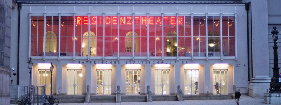 Residenztheater von außen , Foto: Residenztheater München
