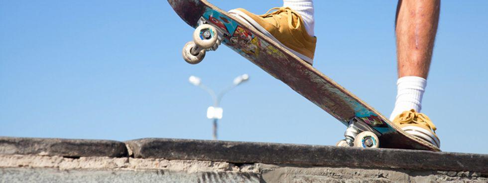 Skateboard Fahren, Foto: YanLev / Shutterstock