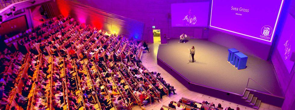 Poetry Slam in der TU, Foto: Diversity&Queer Referat der Studentischen Vertretung der TU