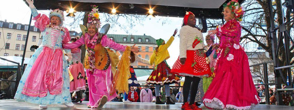 Tanz der Marktfrauen, Foto: muenchen.de / Leonie Liebich 2019
