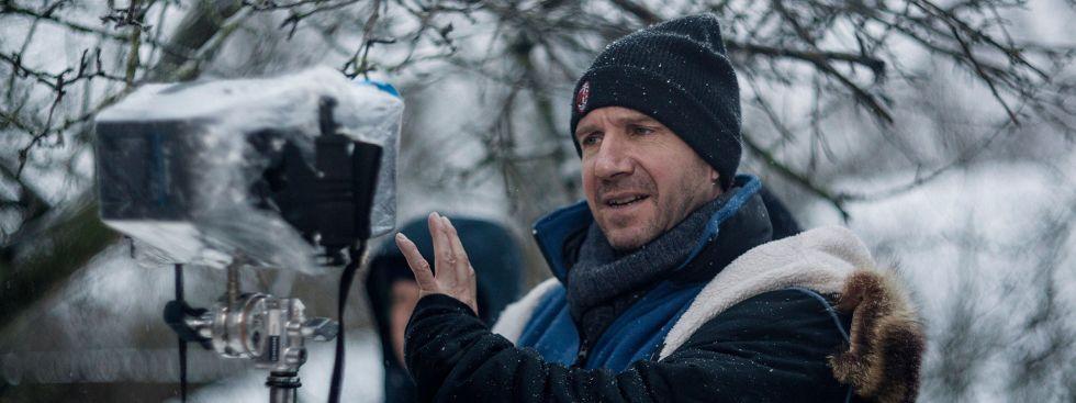"""Ralph Fiennes beim Dreh von """"White Crow"""", Foto: Filmfest München 2019"""