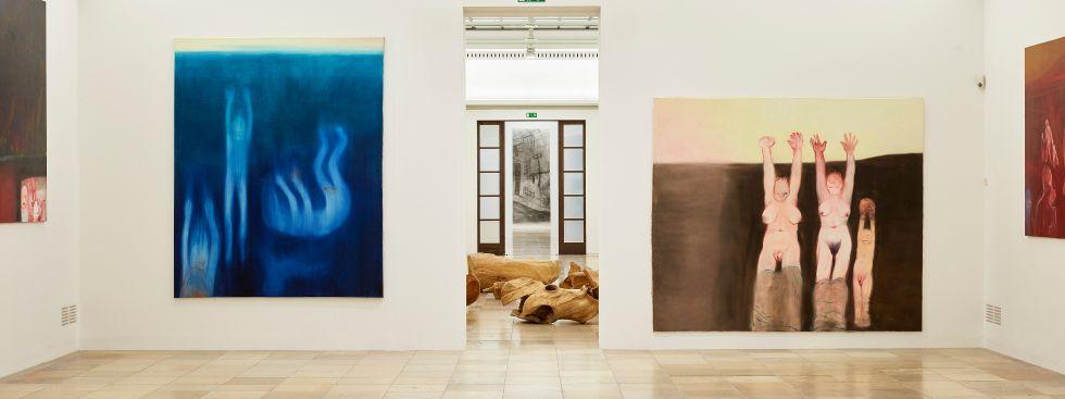 Miriam Cahn: Ich als Mensch im Haus der Kunst, Foto: Jens Weber, München