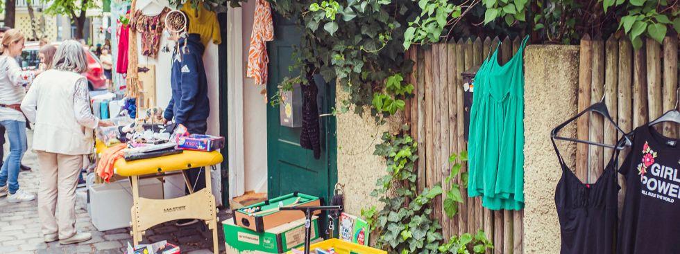Sonnige Hofflohmärkte in Haidhausen , Foto: Anette Göttlicher