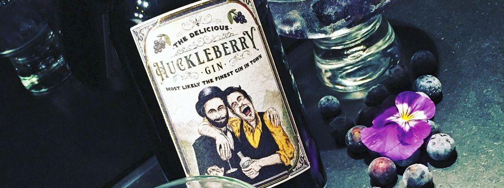 Huckleberry Gin, Foto: Huckleberry Gin