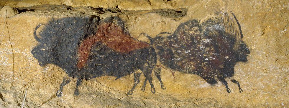 Szene aus der Höhle von Lascaux, Foto: SC Exhibitions