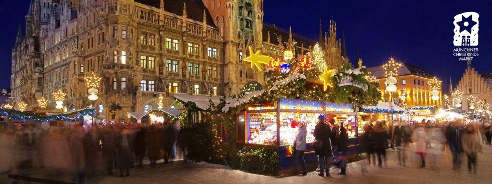 Christkindlmarkt am Marienplatz, Foto: Lukas Barth