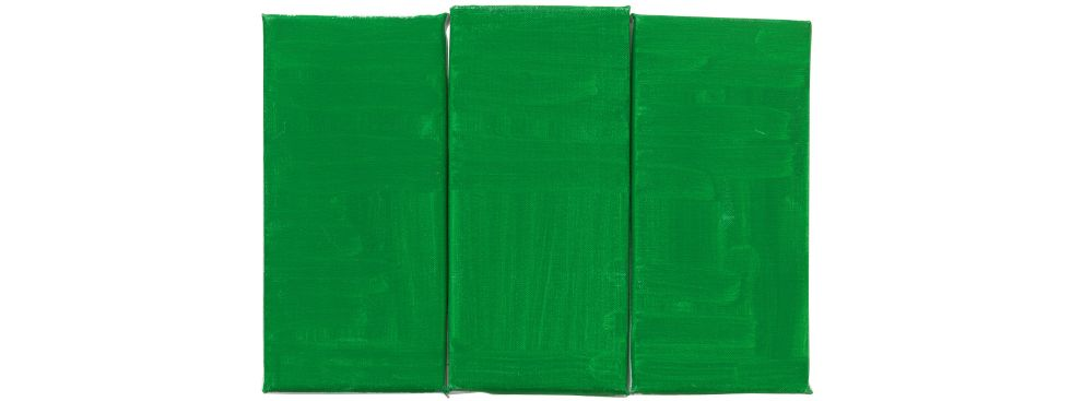 Raoul De Keyser: Green, Green, Green, Foto: Familie Raoul De Keyser | SABAM Belgien 2018 Foto: Jens Ziehe