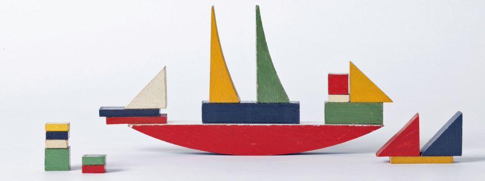 Alma Buscher (Siedhoff-Buscher), Bauspiel Schiff, Foto: Die Neue Sammlung – The Design Museum (A. Laurenzo)