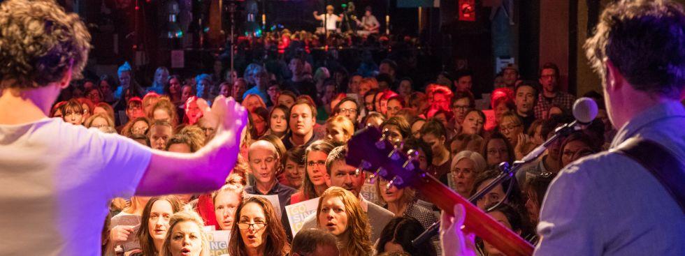 Der Go Sing Choir, Foto: Pius Neumaier / Go Sing Choir