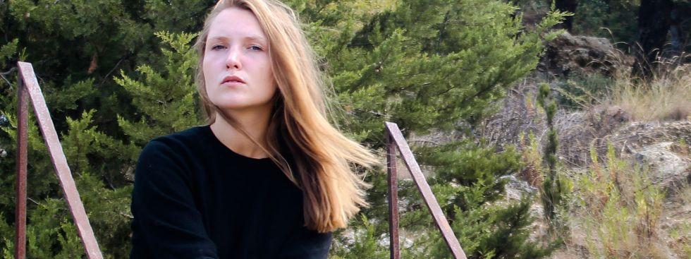 """Stella Sommer, Sängerin von """"Die Heiterkeit"""", Foto: Powerline Agency"""