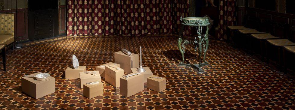 The One Woman Group Exhbition, Installationsansicht, Foto: Jann Averwerser