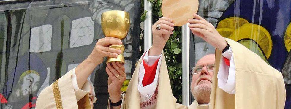 Fronleichnam: Gottesdienst mit Kardinal Marx , Foto: Immanuel Rahman