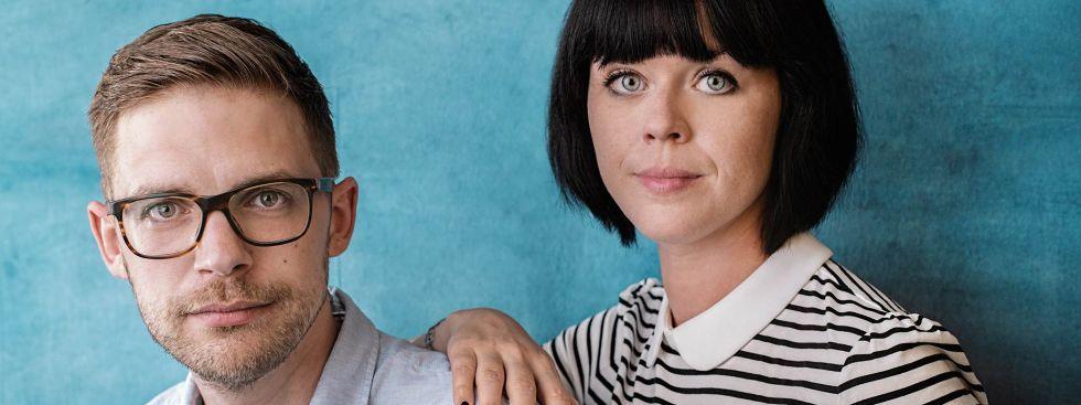 Hugendubel-Lesung: Florian Valerius & Mareike Fallwickl, Foto: Hugendubel