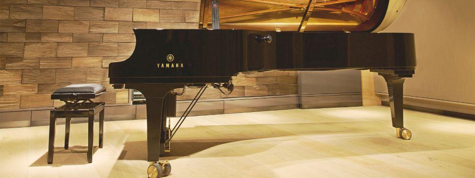Klavier im Klaviersalon, Foto: Klavier Salon München