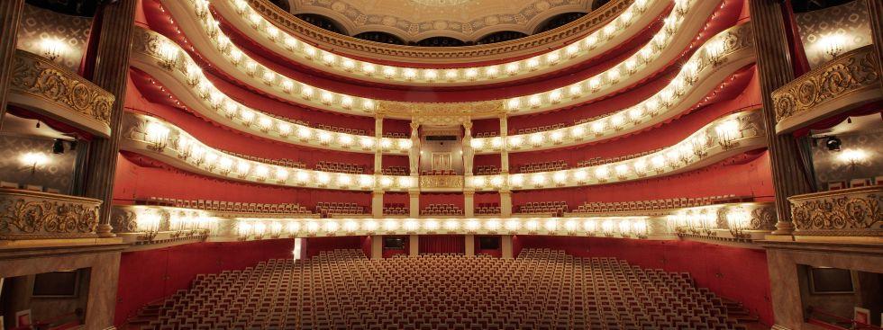 Bayerische Staatsoper - Innenraum, Foto: Wilfried Hösl