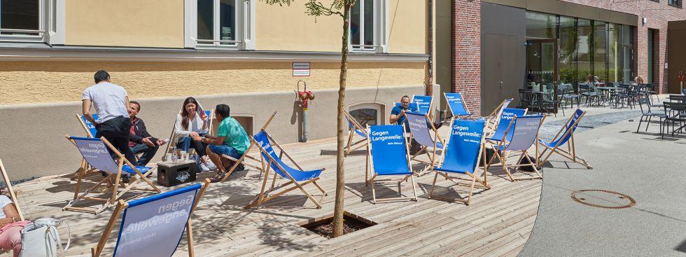 Sommerprogramm der Münchner Volkahochschule., Foto: Markus Tollhopf, MVHS