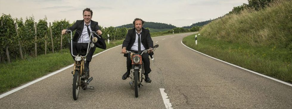 "Szene aus dem Film ""25 km/h"", Foto: Gordon Timpen/Sony Pictures Releasing GmbH/Sunny Side Up GmbH"