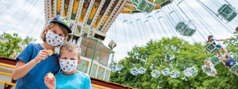"""""""Dult mal anders"""" auf dem Mariahilfplatz: Maskenpflicht, weil's ein Markt ist"""