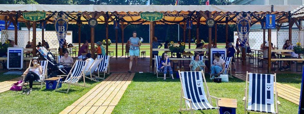 Sommer in der Stadt am Königsplatz, Foto: Anette Göttlicher
