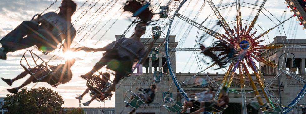 Sommer in der Stadt am Königsplatz, Foto: Rico Güttich