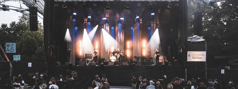 Sommerbühne im Olympiastadion, Foto: Thomas Traschel