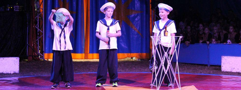Zirkus Nordini - Auftritt , Foto: KJR München-Stadt