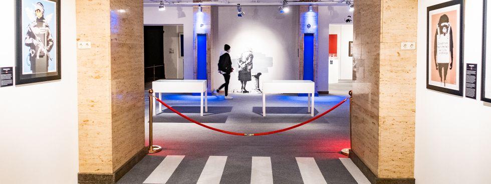 Banksy-Ausstellung in München, Foto: Anette Göttlicher