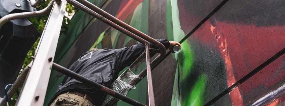 , Foto: KUNSTLABOR 2 Case Mural