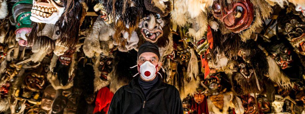 Maskenmuseum Diedorf bei Augsburg, Foto: Sebastian Beck