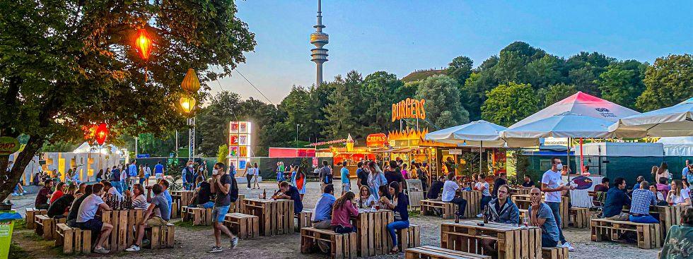 Sommer-Tollwood 2021, Foto: muenchen.de/Michael Hofmann
