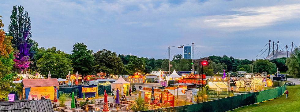 Tollwood-Sommerfestival 2021, Foto: muenchen.de/Michael Hofmann