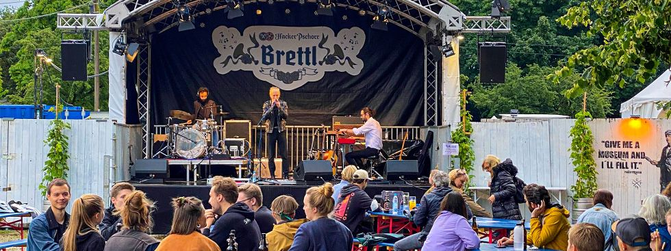 Tollwood-Sommerfestival 2021, Hacker-Pschorr-Brettl, Foto: muenchen.de/Michael Hofmann