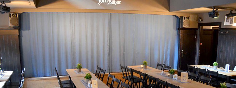 Der Theatersaal der Iberl Bühne., Foto: Iberl Bühne
