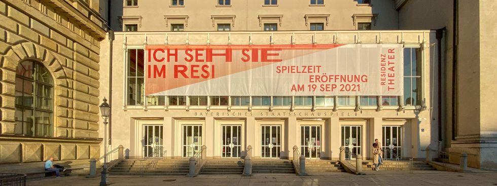 Residenztheater Eröffnung 2021, Foto: muenchen.de/Michael Hofmann