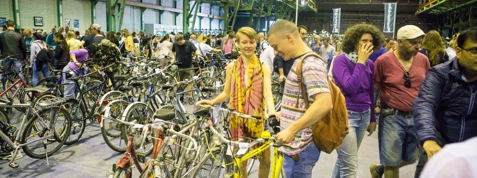 Radlflohmarkt, Foto: Initiative Radlhauptstadt München / Kai Neunert