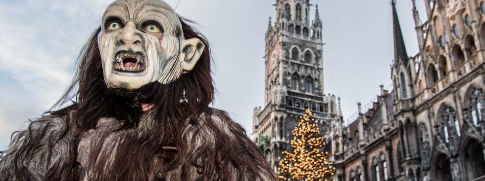 Krampus vor Rathaus, Foto: Immanuel Rahman