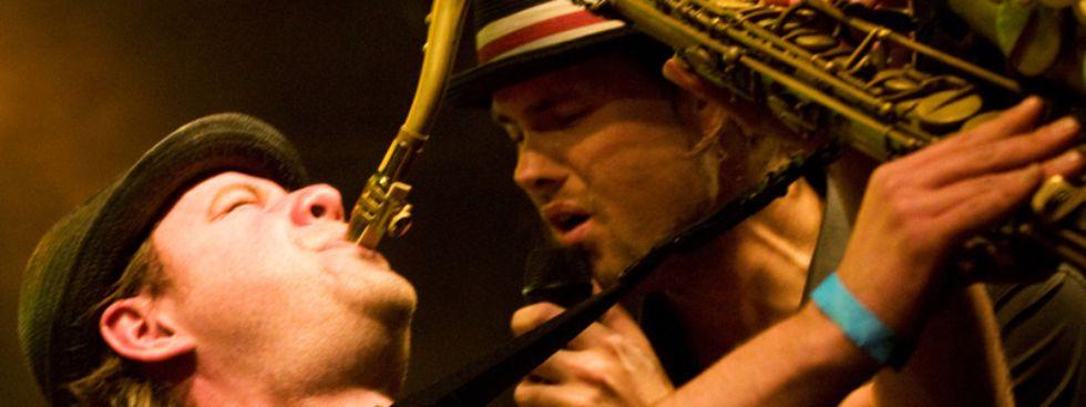 Jazzsaxophonist und -sänger