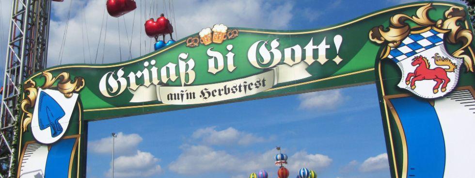 Erdinger Herbstfest Eingangsbereich, Foto: Stadt Erding